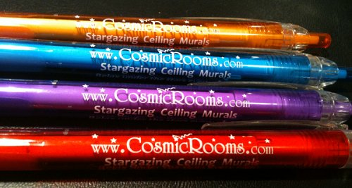cosmic rooms logo pens