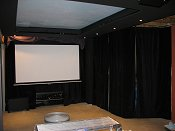 clouds and stars in home theatre