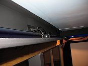 tray ceiling ledge and outlet